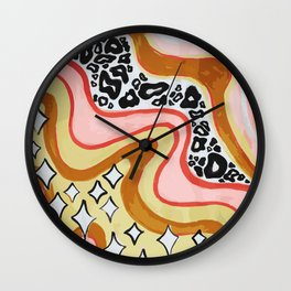 level of dimension Wall Clock