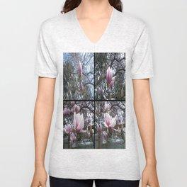 Blossoms Unisex V-Neck