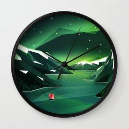 Sailing home Wall Clock