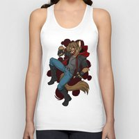 cage Tank Tops featuring Cage by Poecatcomix
