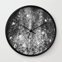 Bubble Lights Wall Clock