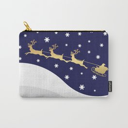 Christmas Santa Claus Carry-All Pouch