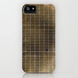 Copper Grid iPhone Case