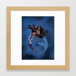 Mermay Framed Art Print