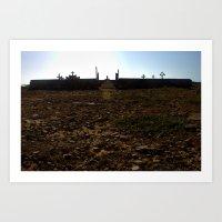 cementerio wayúu Art Print