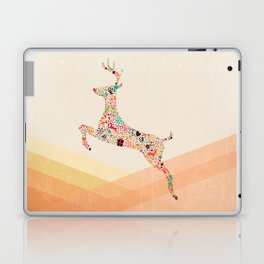 Christmas reindeer 5 Laptop & iPad Skin