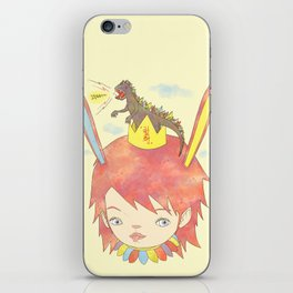 CROWN NEST - GOZILLA KING 고질라킹 iPhone Skin