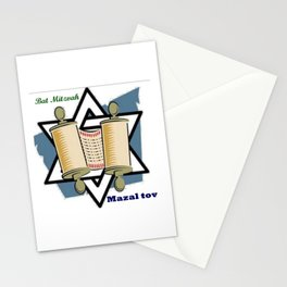 Bat Mitzvah Stationery Cards