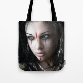 Edge of Her World Tote Bag