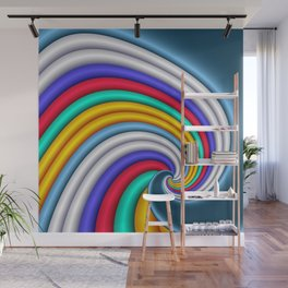 spirals are beautiful -02- Wall Mural