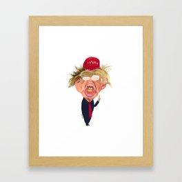 DONALD Framed Art Print