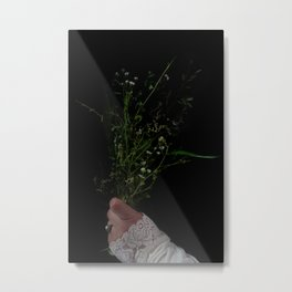 I Brought You Wildflowers But All You Saw Were Weeds Metal Print