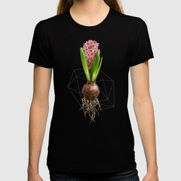 Pink Hyacinth Hydroponics (tryptic 3/3) T-shirt