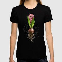 Pink Hyacinth Hydroponics (tryptic 3/3) T-shirt