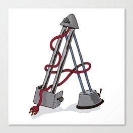 Machine Letters - A Canvas Print