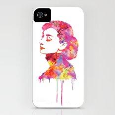 Audrey iPhone (4, 4s) Slim Case