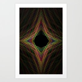 Perceptive Black Art Print
