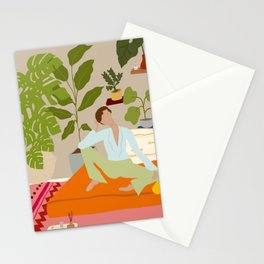 Natalia in her element Stationery Cards