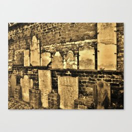 Don't you know what sacred means? Canvas Print