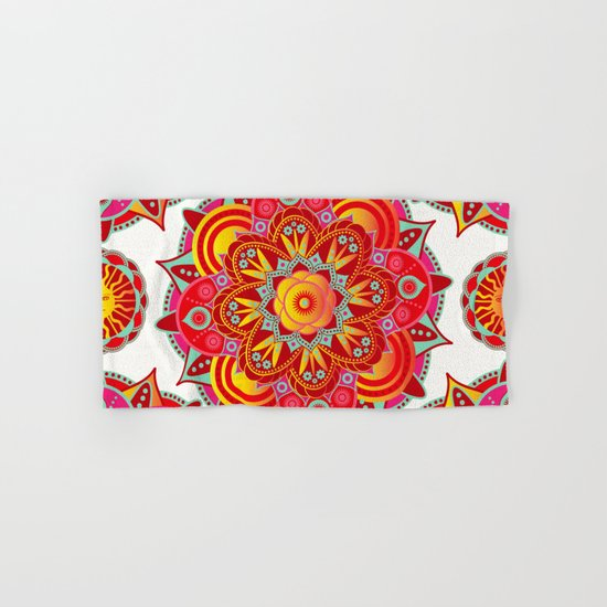 Root Chakra Mandala Hand & Bath Towel