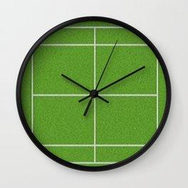 Tennis Court Wall Clock