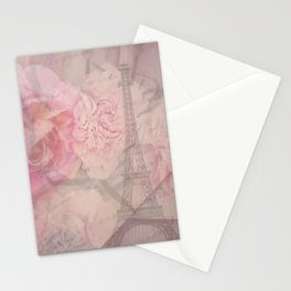 Parisian Romantic Collage Stationery Cards