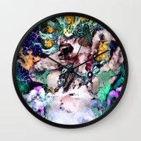 ursula Wall Clocks featuring Ursula  by RDsix3