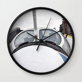 Up Close and Personal Wall Clock