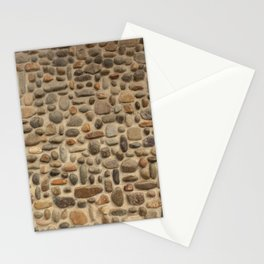 Mosaic Pebble Wall Stationery Cards