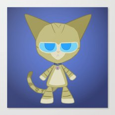 Clarence Cat Canvas Print