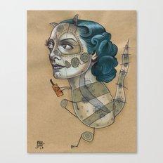 SUGAR DRAGON Canvas Print