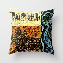Flodsam 8 Throw Pillow