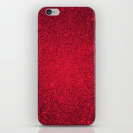 Rose Zircon Sparkling Jewels Pattern iPhone Skin