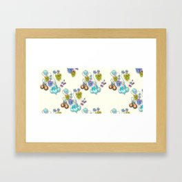 1994 Fruit Wallpaper Framed Art Print