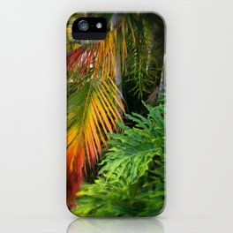 Palm Glow iPhone Case