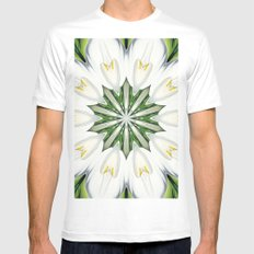 A Little Bit Of Paradise MEDIUM Mens Fitted Tee White