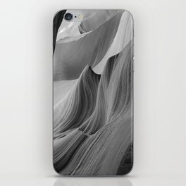Canyon (Black and White) iPhone Skin