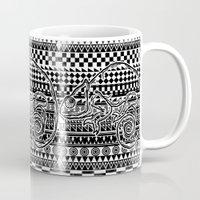ethnic Mugs featuring ethnic by jun salazar