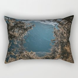 On the trail - Landscape and Nature Photography Rectangular Pillow