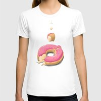 donut T-shirts featuring Donut by Fightstacy