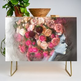 Flower Bloom Girl Credenza