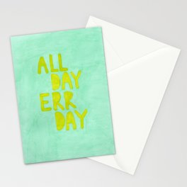 All Day Err Day Stationery Cards