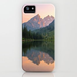 Reflecting The Tetons iPhone Case