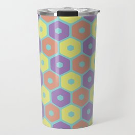hexagonal primaries Travel Mug
