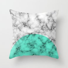 Marble Texture Abstract Throw Pillow