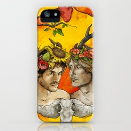 Hannistag iPhone Case