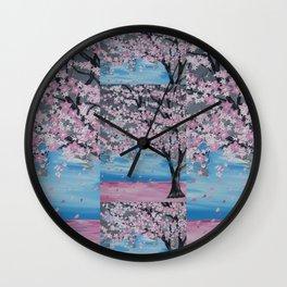 japanese tree Wall Clock