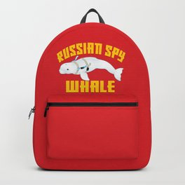 Russian Spy Whale Backpack