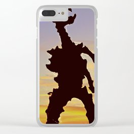 wawel dragon Cracow Clear iPhone Case