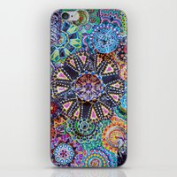 rave iPhone & iPod Skins featuring Rave by Emilie Darlington